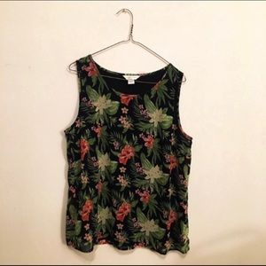 Christopher & Banks Tropical Tank Top